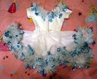 как сшить платье на новый год своими руками.